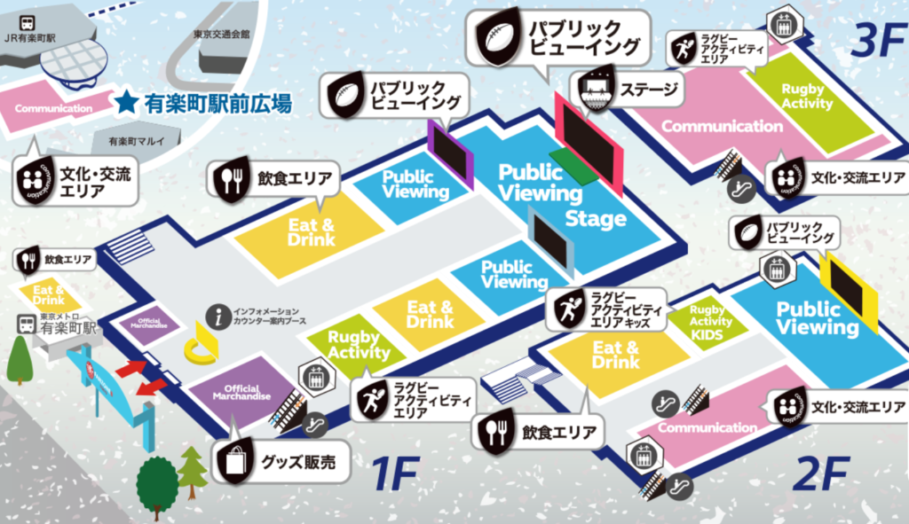 東京スポーツスクエアラグビーライブビューイング