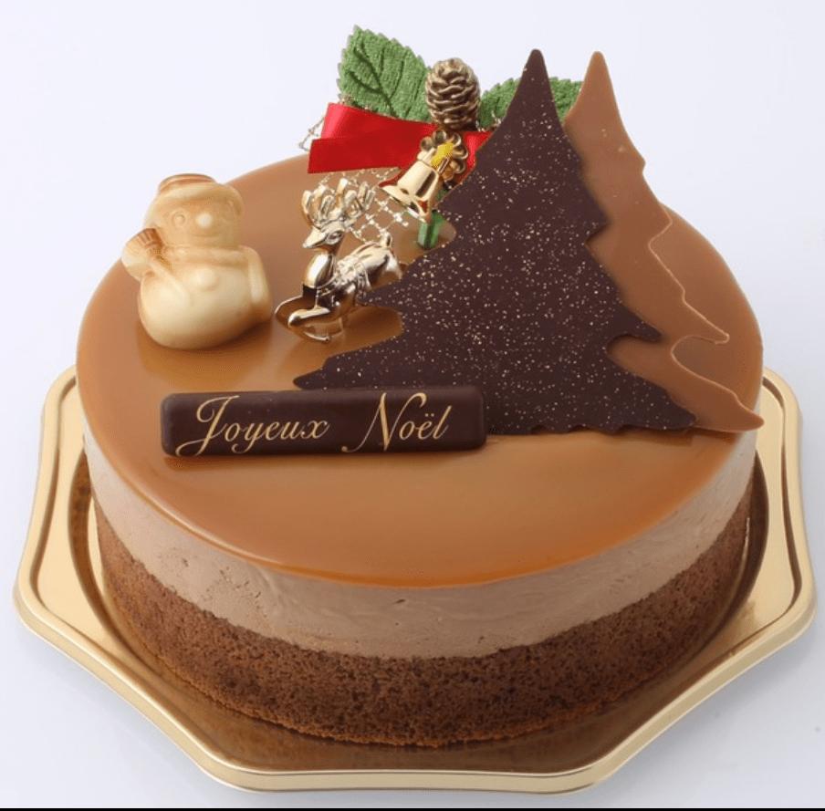 ヴィタメール大丸東京店のクリスマスケーキ予約方法ケーキの値段や種類ノエル・ショコラキャラメル