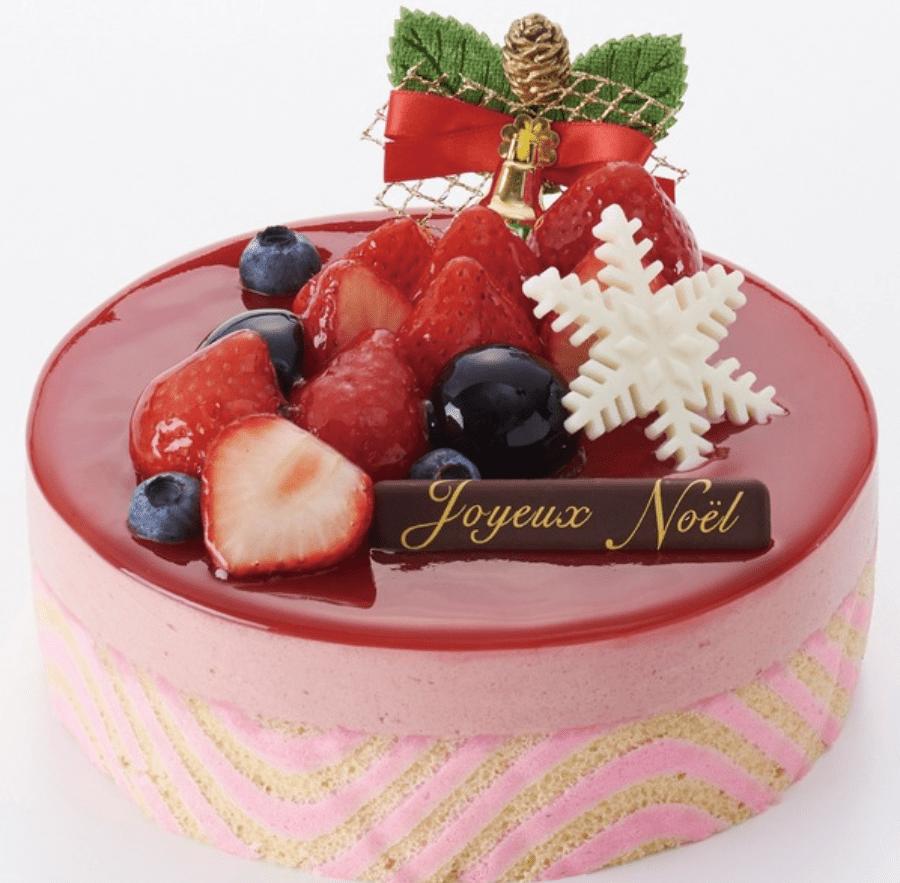 ヴィタメール大丸東京店のクリスマスケーキ予約方法ケーキの値段や種類パルテール